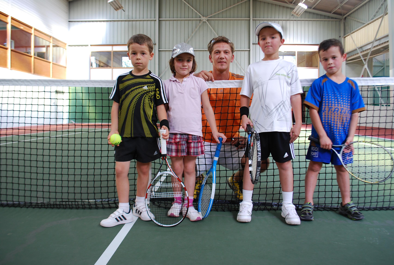 David au Comité de tennis Haut-Marnais